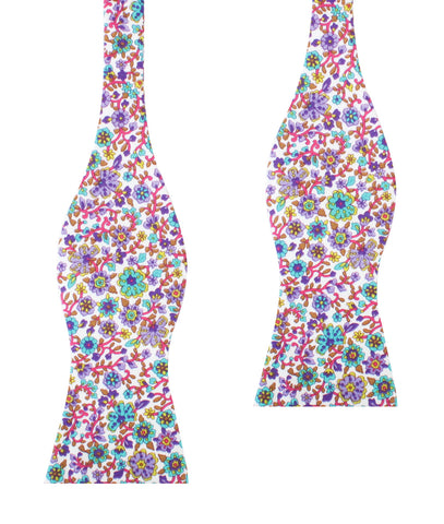 Sant Apollinare Floral Self Bow Tie