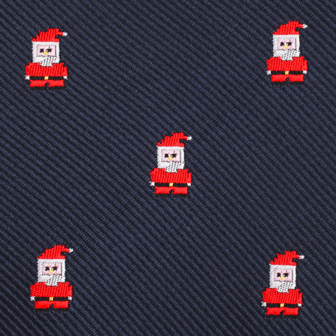 Santa Claus Pixel Pocket Square