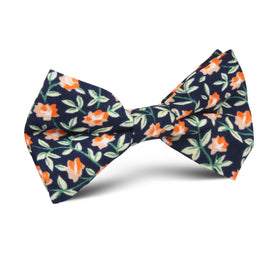 Santo Domingo Floral Kids Bow Tie