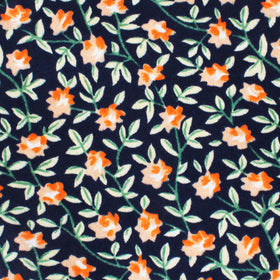 Santo Domingo Floral Pocket Square