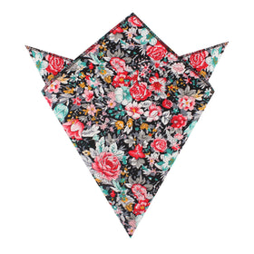 Sardinia Bloom Floral Pocket Square