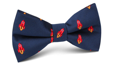 Saturn Red Rocket Bow Tie