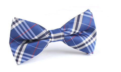 Scotch Blue Bow Tie