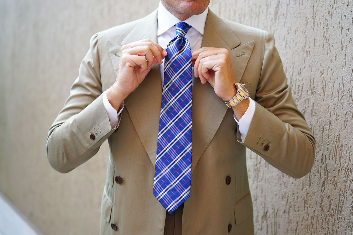 Scotch Blue Necktie