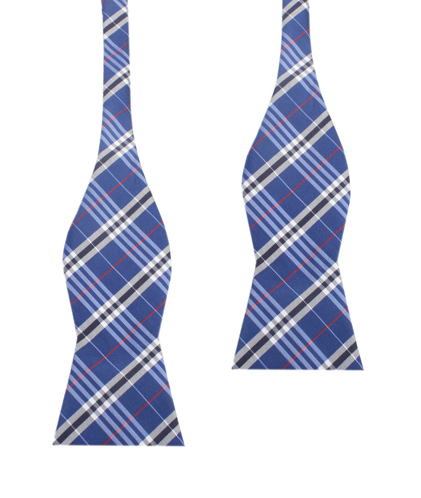 Scotch Blue Self Tie Bow Tie