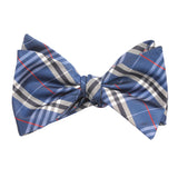 Scotch Blue Self Tie Bow Tie Self tied knot by OTAA