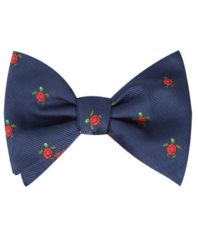 Sea Turtle Self Bow Tie