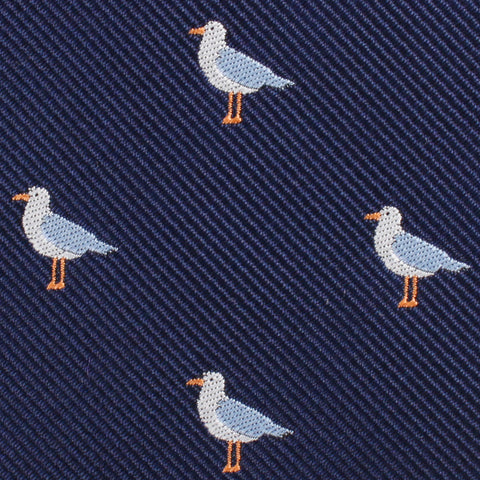 Seagull Bird Diamond Bow Tie