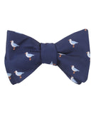 Seagull Bird Self Tied Bowtie