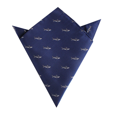 Shark Pocket Square