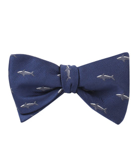 Shark Self Bow Tie