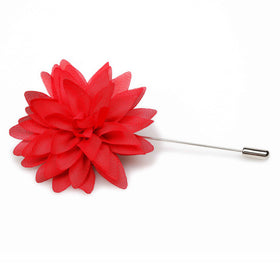 Sherlock Red Lapel Flower