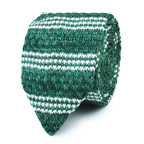 Sherwood Forest Green Knitted Tie