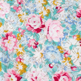 Shinjuku Floral Pocket Square Fabric