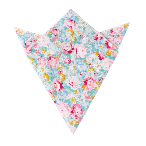 Shinjuku Floral Pocket Square
