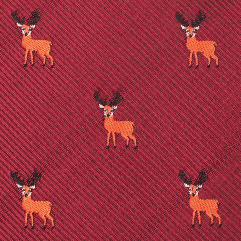 Siberian Reindeer Pocket Square
