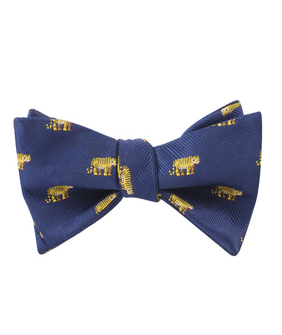 Siberian Tiger Self Bow Tie