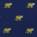 Siberian Tiger Fabric Self Bowtie