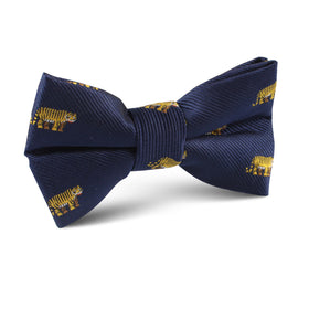 Siberian Tiger Kids Bow Tie