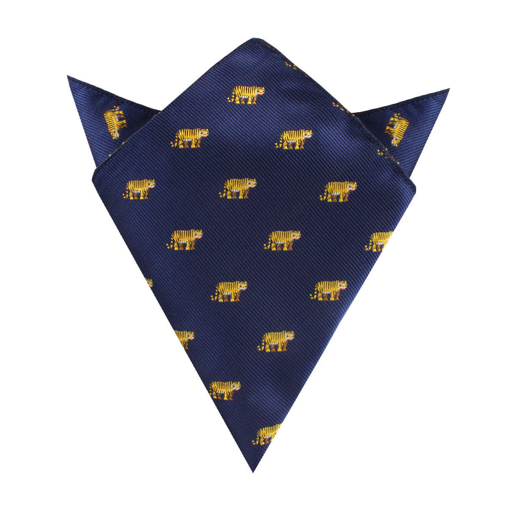 Siberian Tiger Pocket Square