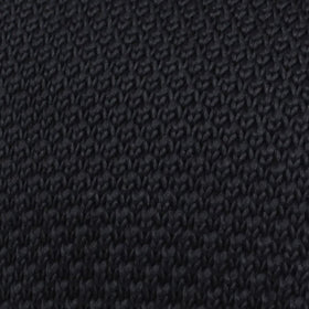 Sillage Black Knitted Tie