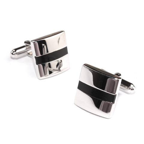 Silver Cyclops Cufflinks
