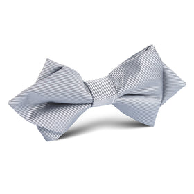 Silver Diamond Bow Tie