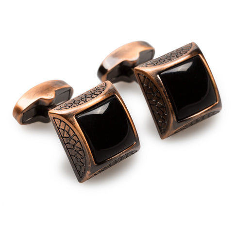 Siwa Oasis Antique Copper Cufflinks