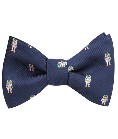 Sky Walker Space Suit Self Bow Tie