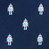 Skynet Robot Self Bow Tie Fabric