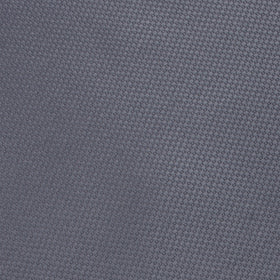 Slate Grey Charcoal Basket Weave Pocket Square
