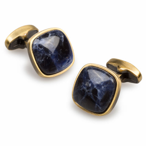 Sodalite Antique Gem Cufflinks