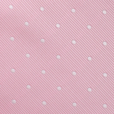 Soft Pink Polka Dots Pocket Square