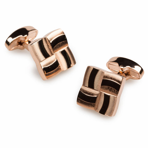 Solomon Vandy Rose Gold Cufflinks
