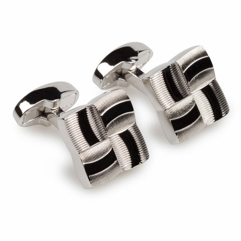 Solomon Vandy Silver Cufflinks