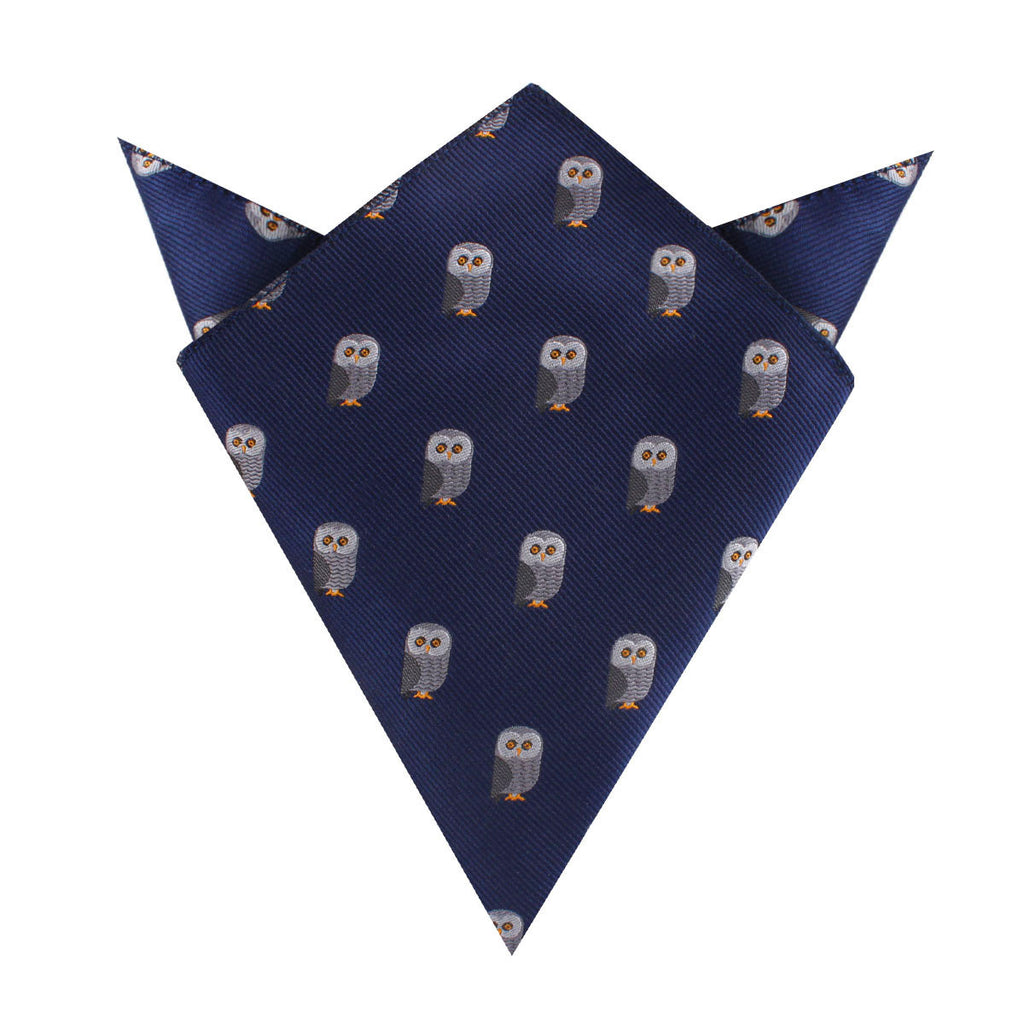 Southern Grey Owl Pocket Square