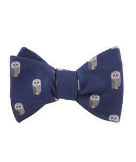 Southern Grey Owl Self Bow Tie