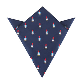 Space Shuttle Pocket Square