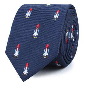 Space Shuttle Skinny Tie