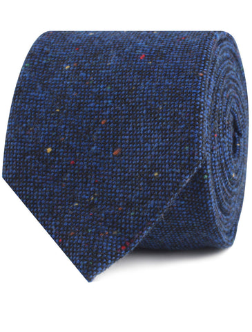 Speckles on Blue Donegal Tie
