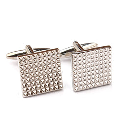 Square Large Studded Cufflinks