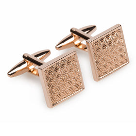 St Paul Rose Gold Cufflinks
