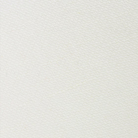 Stark White Twill Linen Pocket Square