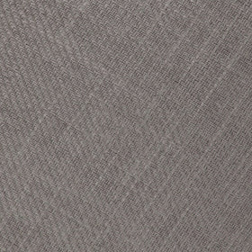 Stone Grey Portobello Slub Linen Pocket Square