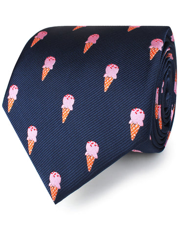 Strawberry Ice Cream Necktie