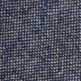 Suffolk Donegal Blue Wool Fabric Kids Diamond Bow Tie