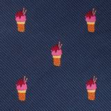 Sunday Ice Cream Necktie Fabric