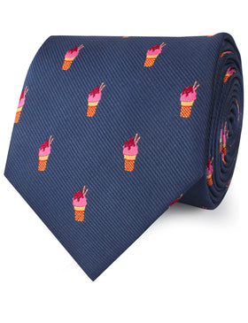 Sunday Ice Cream Necktie