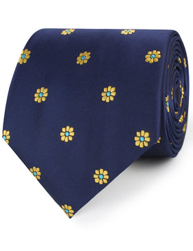 Sunflower Necktie