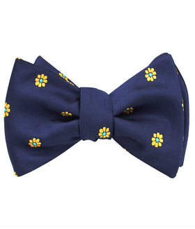 Sunflower Self Bow Tie